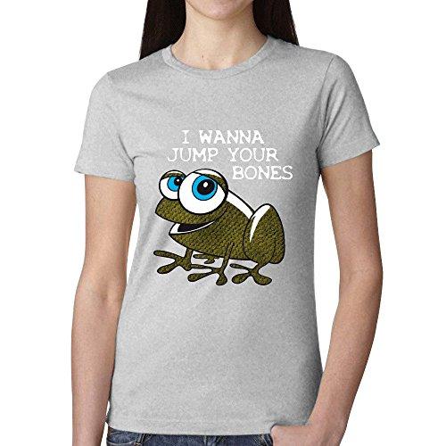 I Wanna Jump Model 004 Woman's T Shirt - Model Polska