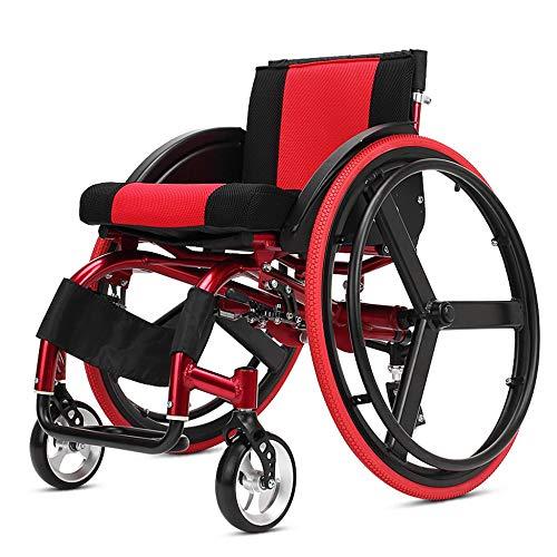 LJWJ-Elderly-Wheelchair-Sport-Adult-Manual-Self-Propelled-Lightweight-Foldable-Aluminium-Advanced-Shock-Absorption-Bump-Uncomfortable-Be-Applicable-Children-Cerebral-Palsy-Super-LightBla