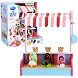 Ice Cream Shop by Svan - 100% Real Wood, 9pc Set Includes Scooper and Magnetic Treats