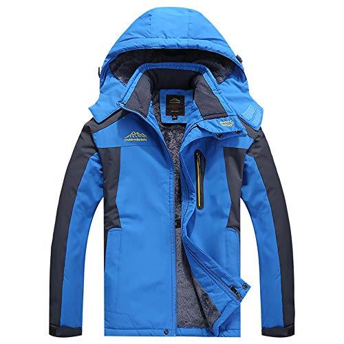 Cleaner Floor Plus Steam (Serzul Thicken Fleece Coat Men Plus Size Hoode Jacekt Outdoor Assault Coat Warmth Wind Protection Jacket)