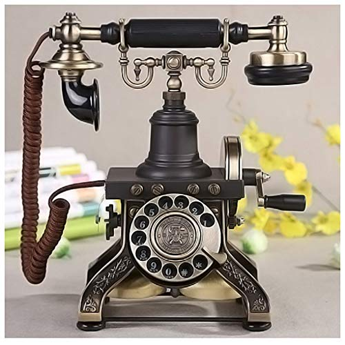SMC European Retro Antique Telephone Home Vintage Antique Creative Phone Fixed Seat from SMC Telephone