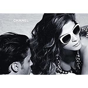 PRINT AD With Elisa Sednaoui For Chanel 2011 Sunglasses