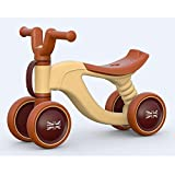 Ancaixin Brown England Flag Baby Balance Bikes Bicycle Children Walker for Ages 1-3