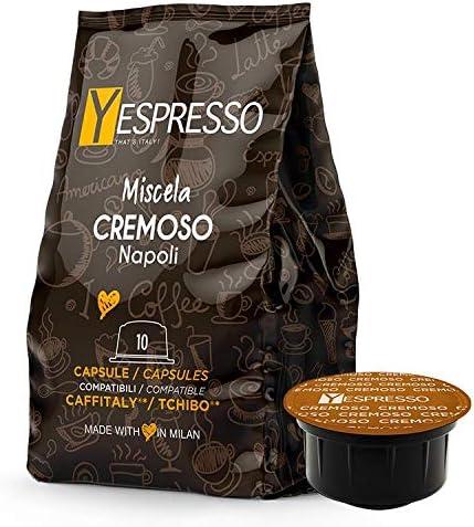 Yespresso Caffitaly compatibili, Cremoso – 240 capsule