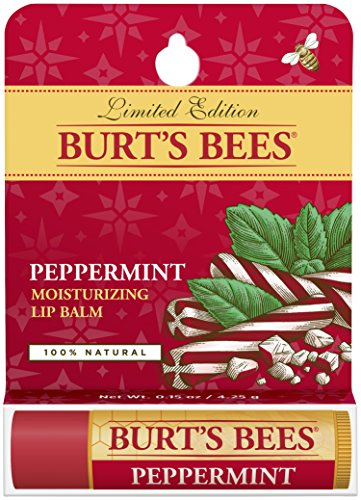 BURT'S BEES PEPPERMINT LIP BALM 0.15 (Peppermint Lip Balm)