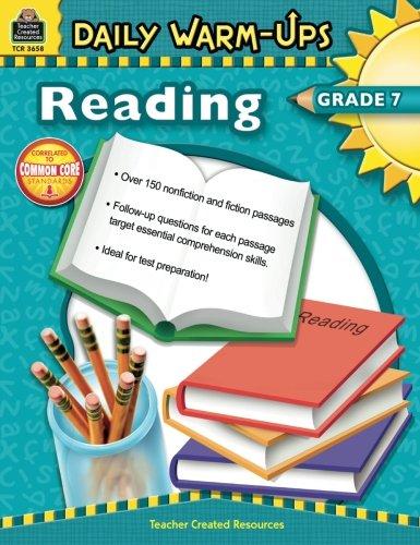 Daily Warm-Ups: Reading Grade 7 ()