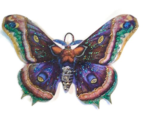 Polyphemus Moth Ornament Decoration Garden Wedding Favor