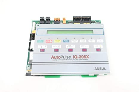 ANSUL IQ-396X AUTOPULSE Panel FIRE Alarm Circuit Board REV A