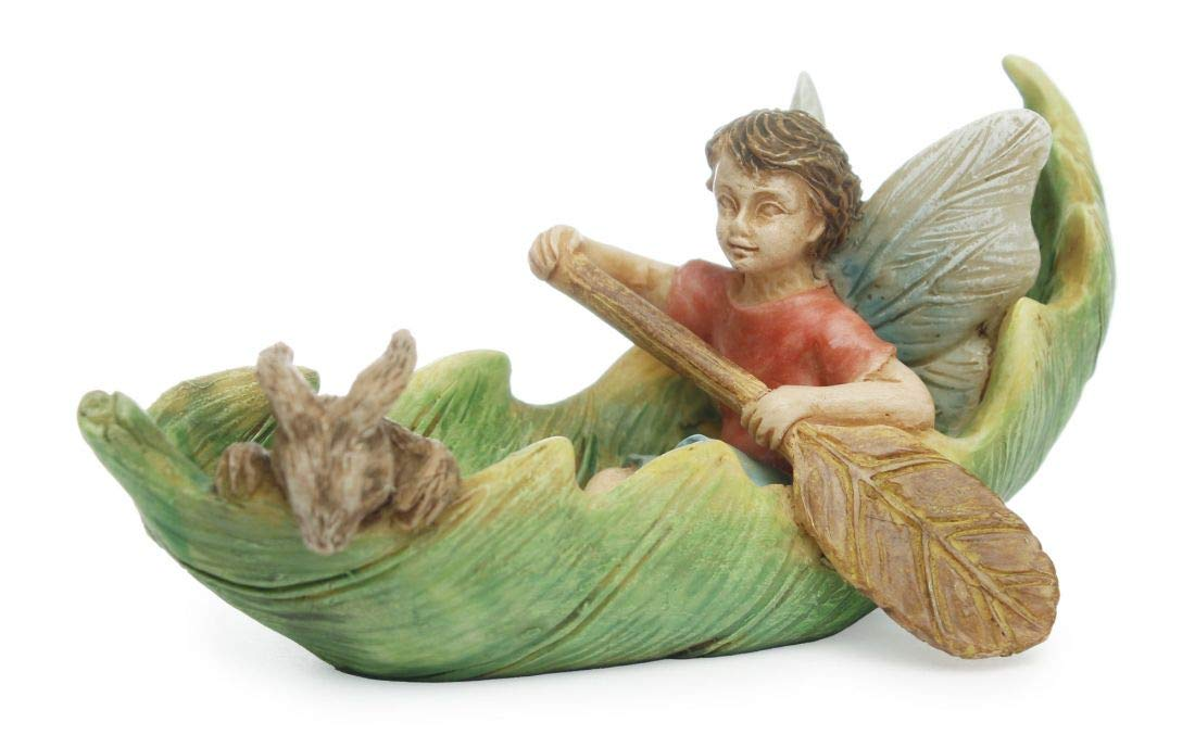 Marshall Home and Garden Fairy Canoeing With Friends MG130
