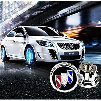 sooloon Wheel Hub Center Caps Cover LED Light Magnetic Levitation Waterproof for Mercedes-Benz Audi BMW Honda Toyota Cadillac Lexus Buick Accessory ...