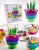 FGN Best Unique Cool Home Kitchen Tools Gadgets-Fruit Salad Maker Fruit Slicer-Avocado Slicer,Citrus Peeler,Apple Slicer,Citrus Juicer,Fruit Grater
