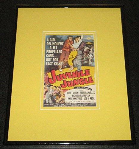 Richard Bakalyan Signed Framed 11x14 Babyish Jungle Mini Poster Display