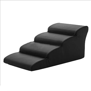 Escaleras Gato de la rampa para Perros Negros, Impermeable ...