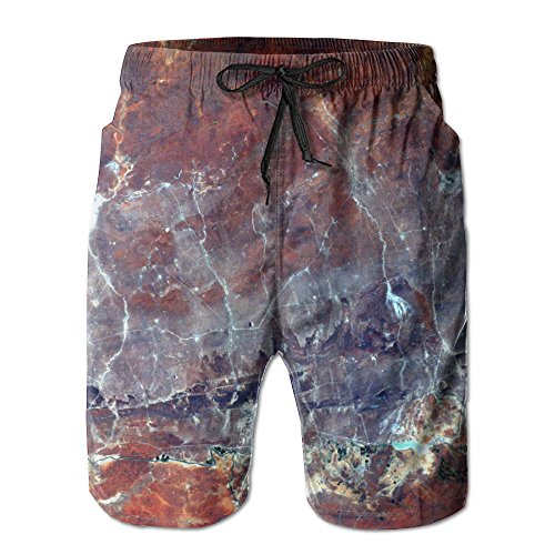 Space M Beach Pants Of Men Hipster Summer Pants Casual Quick - Dry Bathing Suits For Swim Trunks Cargo Shorts With Ventilation Summer Fast-Drying Beach (Hipster Swimwear Trunks)