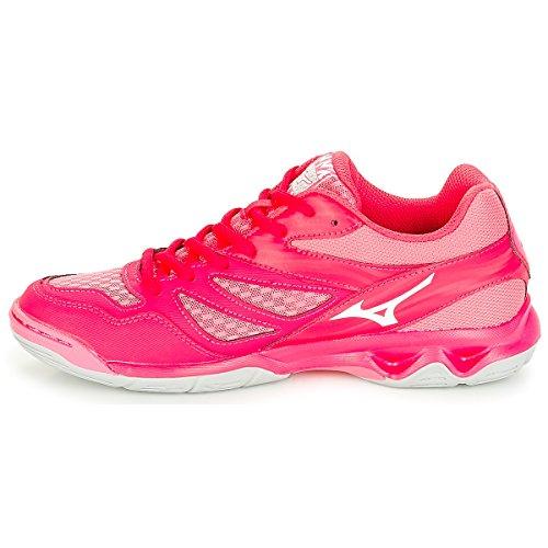 Camelliarose Femme Wht 001 Rose Mizuno Azalea Thunder Sneakers Basses Blade RxqnnIw8g