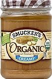 Smucker's Organic Creamy Peanut Butter, 16 oz