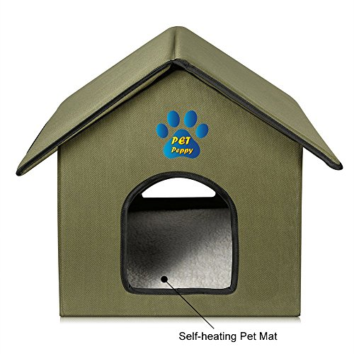 OutdoorIndoor Cat House by