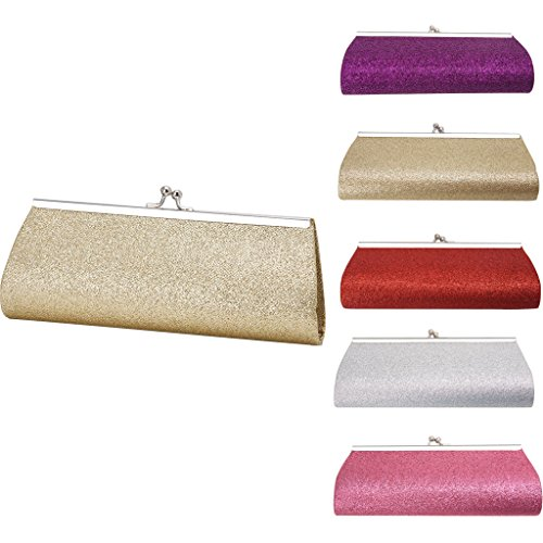 Handbag Evening Women's Bag Banquet Pink Clutch xuesiLY Wedding Glitter Bridal Party Prom New v5wqTdT
