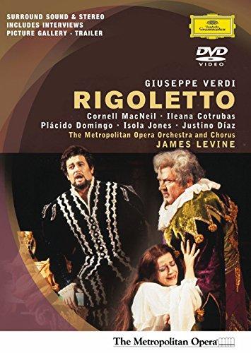Verdi - Rigoletto / Domingo, MacNeil, Cotrubas, Diaz, Levine, Metropolitan Opera (Besten Online Shop Uk)
