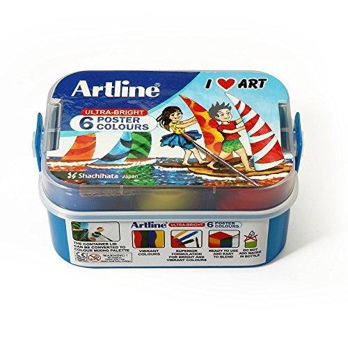 Artline Poster Colour - Pack Of 6 by Artline