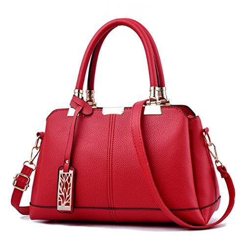 Sac Rouge Vintage Générique Bandoulière À Fourre Femme Main tout Pour HxwOZ1gwq