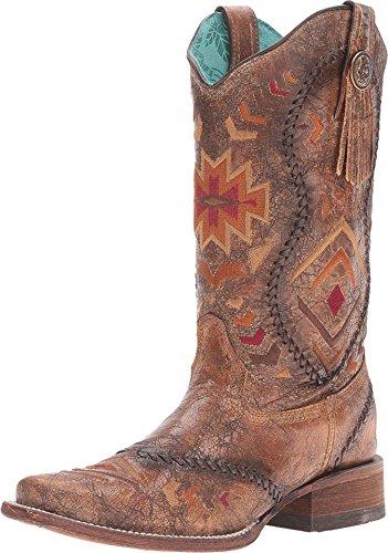 Corral Boots Women's C2915 Cognac/Multicolor Boot