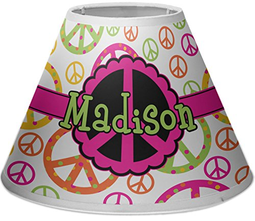 RNK Shops Peace Sign Empire Lamp Shade