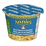 Annie's Homegrown Gluten Free Rice Pasta and Cheddar Macaroni and Cheese, 57 g