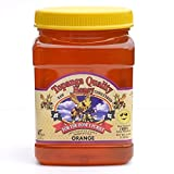 Topanga Quality Honey (Orange Floral Source) Raw, Unfiltered, Unpasturized, Best Quality, All Natural, Kosher - 3 Pounds Each offers
