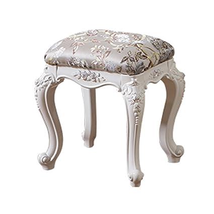 Stools MAZHONG European Simple white Dressing Table Makeup ...