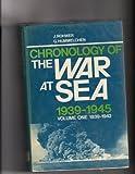 Chronology of the War at Sea, 1939-1945, Jurgen Rohwer, 0668033088