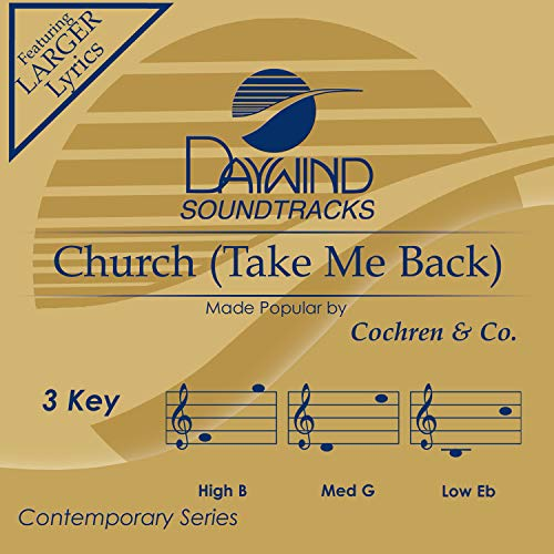 Church (Take Me Back) [Accompaniment/Performance Track]