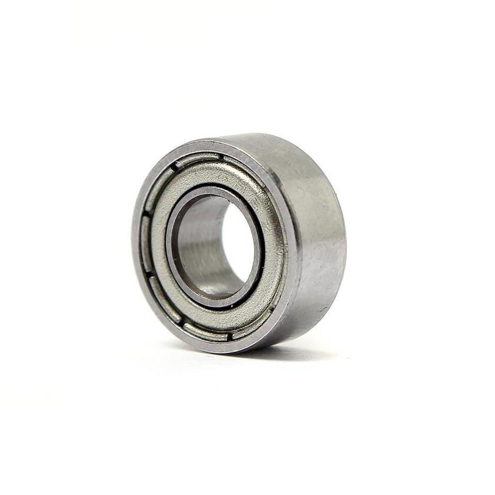 4 DIY Mechanicals 697ZZ Metal Shielded Deep Groove Ball Bearing 7x17x5mm