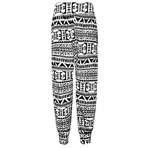 Big Ali 8 Pantalons Femmes Stretch Sarouels Imprimés Taille Baba Aztèque 26 Janisramone 4vwATw