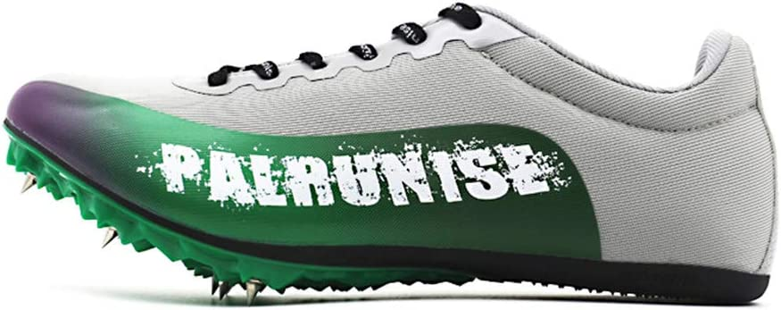 LFLDZ Boys Track & Zapatos de Terrain, Tessons de Running para Hombre, Mujer Profesional, Atletismo, Zapatillas Cross Country Training Competition Nail, Gris, 38: Amazon.es: Hogar