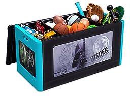 Delta Children Store and Organize Toy Box, Star Wars Darth Vader
