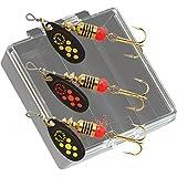 Mepps Black Fury Plain Trout Fishing Lure Pocket Pack
