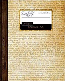 Reading Log Gifts For Book Lovers Reading Journal Softback Large 8 X 10 Antique Paper 100 Spacious Record Pages More Reading Logs Journals Smart Bookx 9781519531797 Amazon Com Books