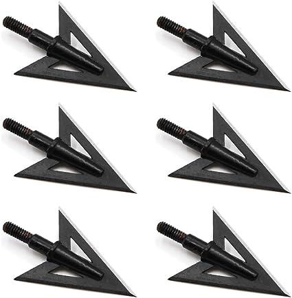 Huntcool 12pcs Archery Arrow Nock for Compound Bow Inner Diameter 6.2mm//.244