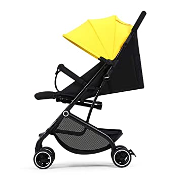 Bebé Silla de paseo Luz de cuatro ruedas Carrito de bebé ...