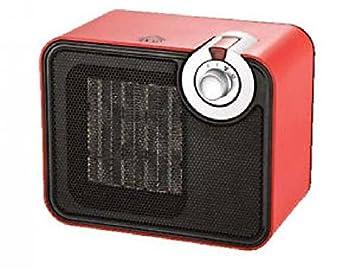 DCG Eltronic SA9107 Negro, Rojo 1500W Radiador - Calefactor (Radiador, Cerámico, Piso