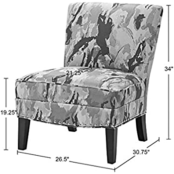Madison Park Hayden Slipper Accent Chair Multi See Below  sc 1 st  Amazon.com & Amazon.com: Madison Park Hayden Slipper Accent Chair Multi See Below ...
