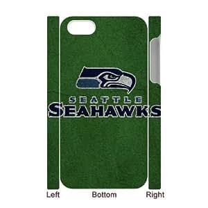 LSQDIY(R) Seattle seahawks iPhone 4,4G,4S 3D Cover Case, DIY iPhone 4,4G,4S 3D Case Seattle seahawks