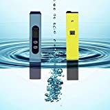 Water Quality Digital Tester High Accuracy [ Storm Buy ] pH Meter / pH Tester with ATC + TDS Tester Aquarium Pool Hydroponic Water Monitor 0-9999 PPM