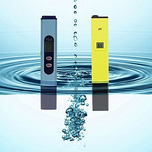 Storm buy Water Quality Digital Tester High Accuracy pH Meter/pH Tester with ATC + TDS Tester Aquarium Pool Hydroponic Water Monitor 0-9999 PPM by Storm buy