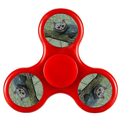 [Fidget Toy Hand Spinner Camouflage, Stress Reducer Relieve Anxiety ALICE IN WONDERLAND CHESHIRE CAT2 360 Spinner Stress FreeFidget Spinner Metal-Alloy Toy Tri-Spinner EDC Focus Toy For Kids &] (Spawn Costume For Kids)