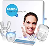 Brilliant32 Teeth Whitening System – Easy To Use Kit – Natural Formula – Visibly Whiter Teeth In Minutes – Bonus 5 Whitening Strips Review