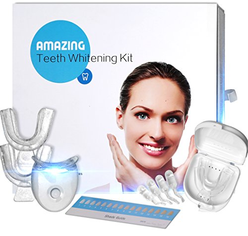 Brilliant32 Teeth Whitening System – Easy To Use Kit – Natural Formula – Visibly Whiter Teeth In Minutes – Bonus 5 Whitening Strips