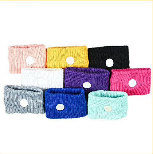 Letool®2 Pairs Anti-Nausea Wristbands SICKNESS Motion Sick Car Flying Pregnancy Sea Trips