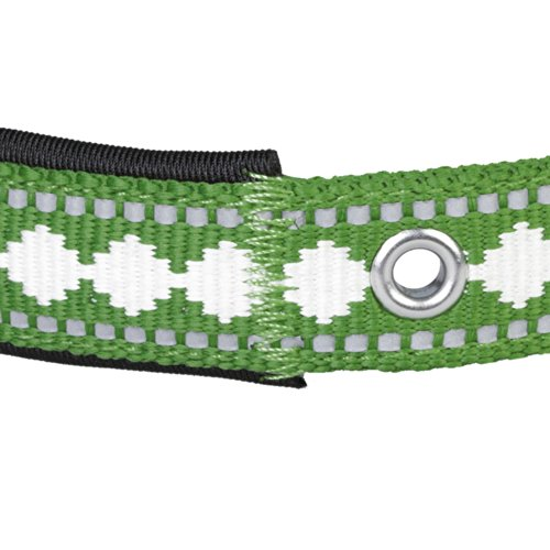 Blueberry-Pet-Soft-Comfortable-Neoprene-Padded-Dog-Collar-with-Jacquard-Pattern-Matching-Leash-Harness-Available-Separately